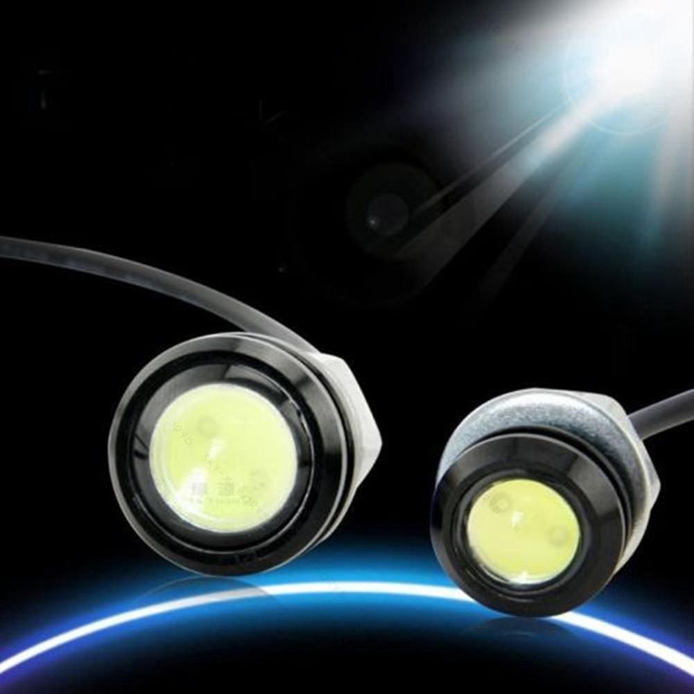 VVMS_2Pcs 9W LED Light Car Fog DRL Daytime Running Reverse Backup Parking Signal Lamp
