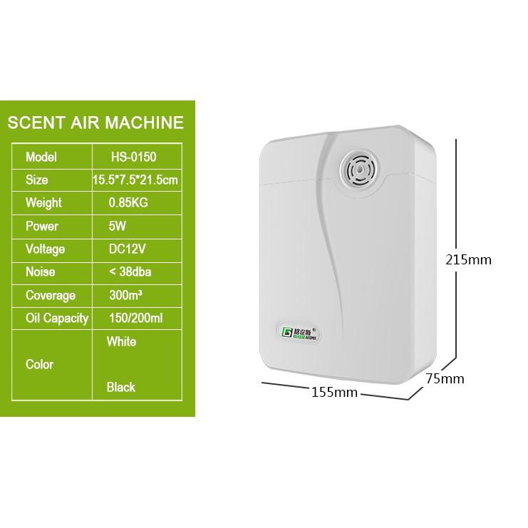 [Mã SRJULY1619 giảm 15K đơn 50K] Máy khuếch tán công nghiệp khuếch tán tinh dầu/ nano bạc 100m2 không gian lớn trắng