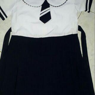 Combo đầm liền học sinh - combo 3 áo giá ctv