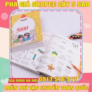 Bộ tô màu 5000 hình cho bé yêu ( tặng kèm bút màu )