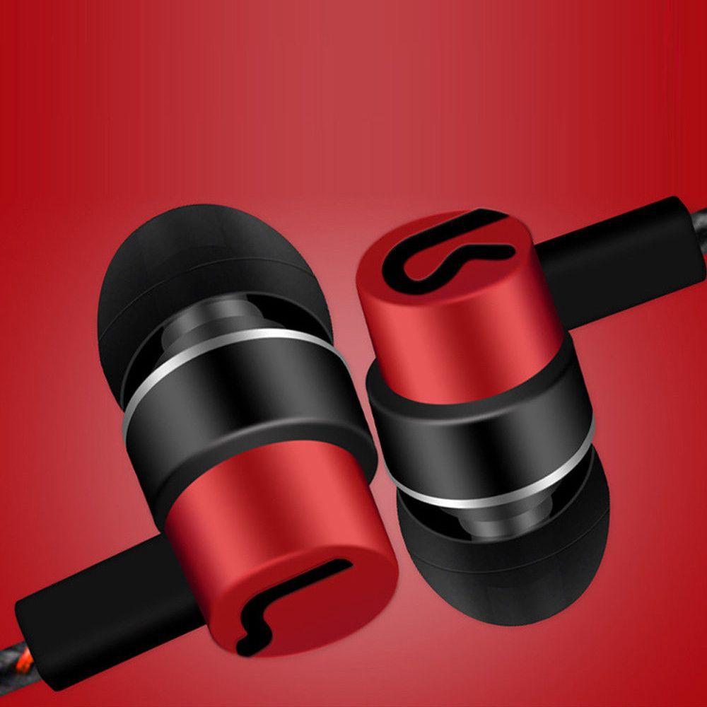 WATTLE 3.5mm Portable Mobile Phone Earpiece Wired Bass In-Ear Earphone
