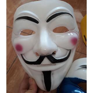 Mặt nạ hacker Anonymous trung thu halloween hóa trang giá rẻ