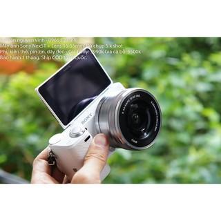 Máy ảnh Sony alpha Nex5T-5R kèm ống kính 16-50mm đã qua sử dụng
