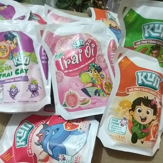Sữa trái cây kun túi 110ml
