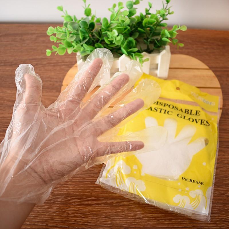 Túi 100 găng tay vệ sinh an toàn (HNDS 59)