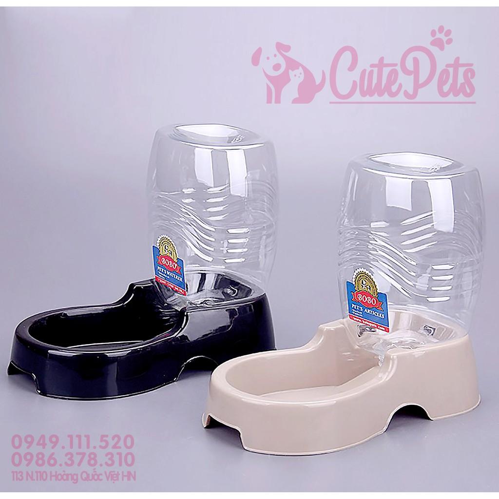 Bát ăn uống tiếp nước tự động BoBo cho chó mèo 950ml - CutePets
