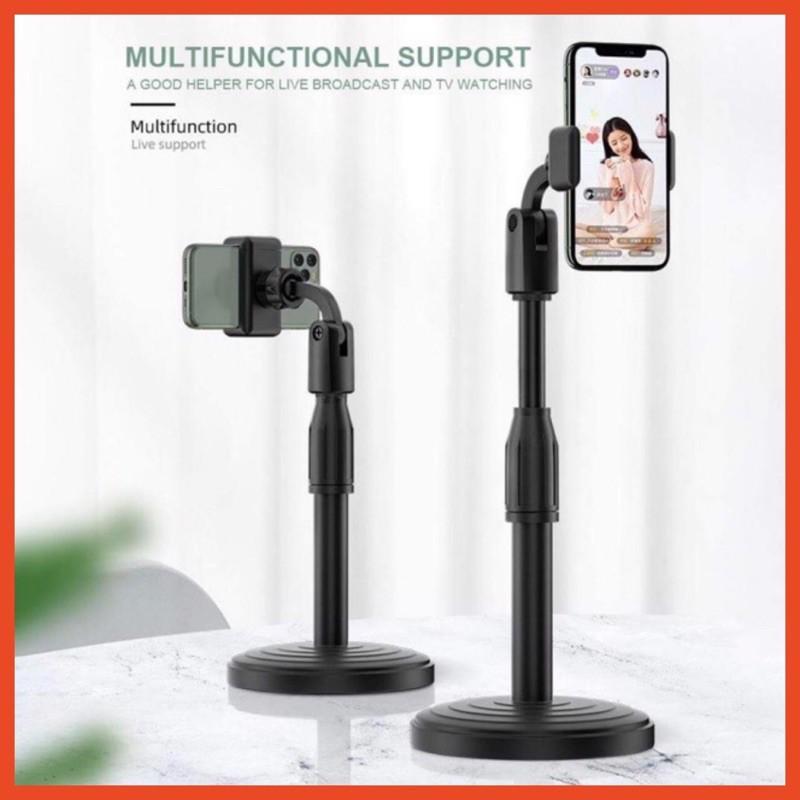 Giá đỡ điện thoại livetream tiktok, kẹp chụp ảnh đa năng, kẹp xoay 360 độ, để bàn tiện dụng L7