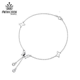[Mã MCJ20 giảm 20K đơn từ 199K] Lắc Chân Bạc Nữ Hình Cánh Bướm - Minh Canh Jewelry thumbnail
