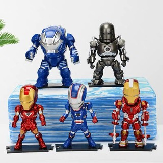 Marvel Avengers Iron Man MK1 MK35 Hulkbuster Iron Patriot PVC Action Figure Collectible Model Kids Toys Anime Super Hero