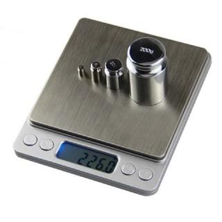 Cân tiểu ly điện tử nhà bếp mini định lượng từ 1g đến 3kg, 5kg, 10kg cân thực phẩm, làm bánh cân có độ chính xác cao