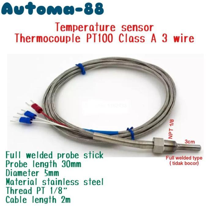 Cặp nhiệt kế AUTONICS TW-N PT100 PT100 PT 1/8