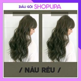 Thuốc nhuộm tóc nâu rêu SHOPLIPA
