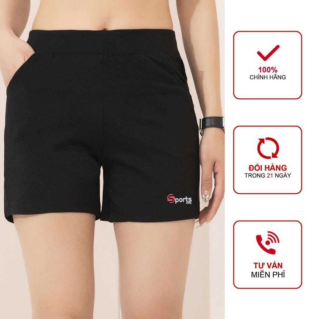 Quần short đùi nữ thể thao tập gym chạy bộ quần mặc ở nhà thoải mái thoáng mát GYGA