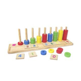 Học đếm bậc thang – Đồ chơi Winwintoys