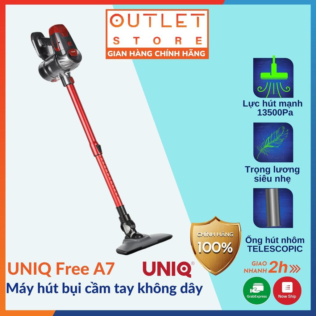 Máy hút bụi cầm tay không dây UNIQ Free A7 đa năng gia đình mini pin sạc