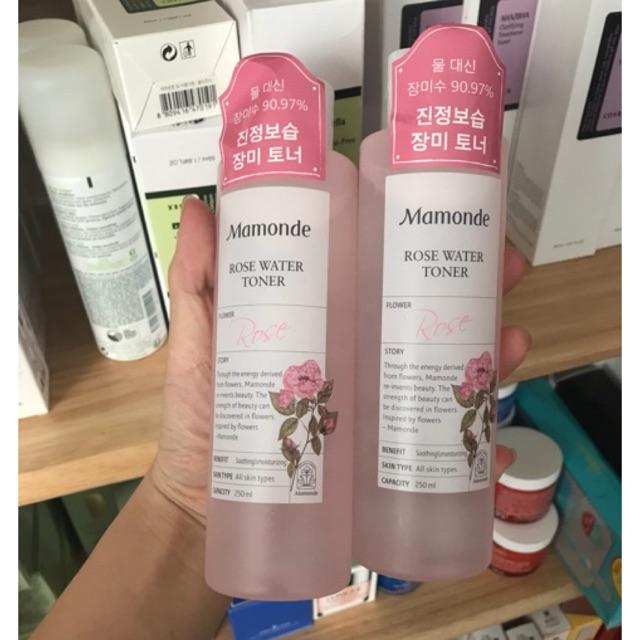 Nước hoa hồng Mamonde Rose Water Toner ( mẫu mới) - 2446998 , 864624928 , 322_864624928 , 275000 , Nuoc-hoa-hong-Mamonde-Rose-Water-Toner-mau-moi-322_864624928 , shopee.vn , Nước hoa hồng Mamonde Rose Water Toner ( mẫu mới)