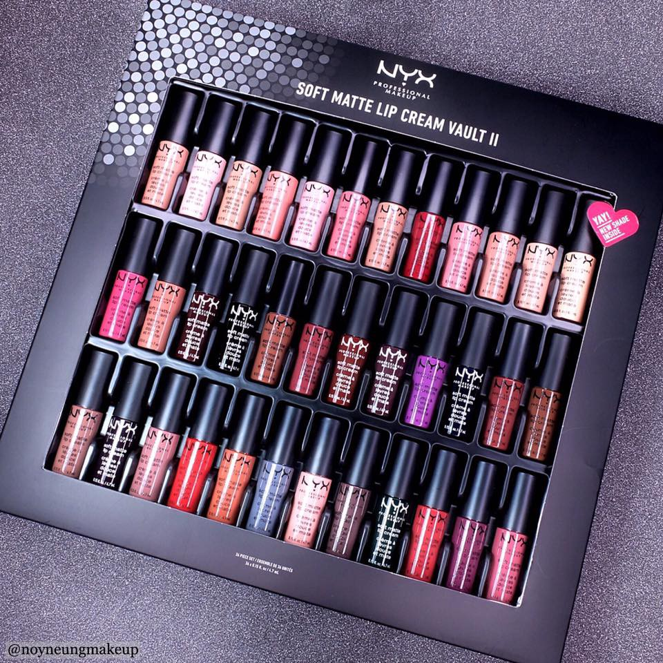 Set Son Kem 36 Cây Mini NYX - Soft Matte Lip Cream Vault II - 2501537 , 1009656426 , 322_1009656426 , 1500000 , Set-Son-Kem-36-Cay-Mini-NYX-Soft-Matte-Lip-Cream-Vault-II-322_1009656426 , shopee.vn , Set Son Kem 36 Cây Mini NYX - Soft Matte Lip Cream Vault II