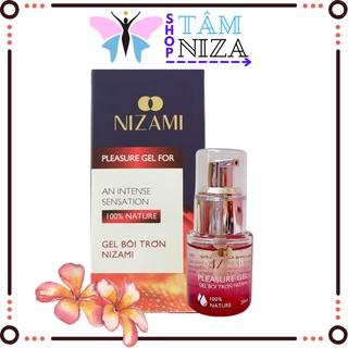 Gel bôi trơn tăng cảm giác gel bôi trơn tự nhiên mát lạnh chính hãng Nizami thumbnail