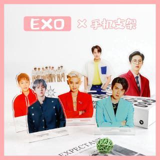 Giá đỡ điện thoại bằng acrylic trong suốt in hình EXO d.o. Kai