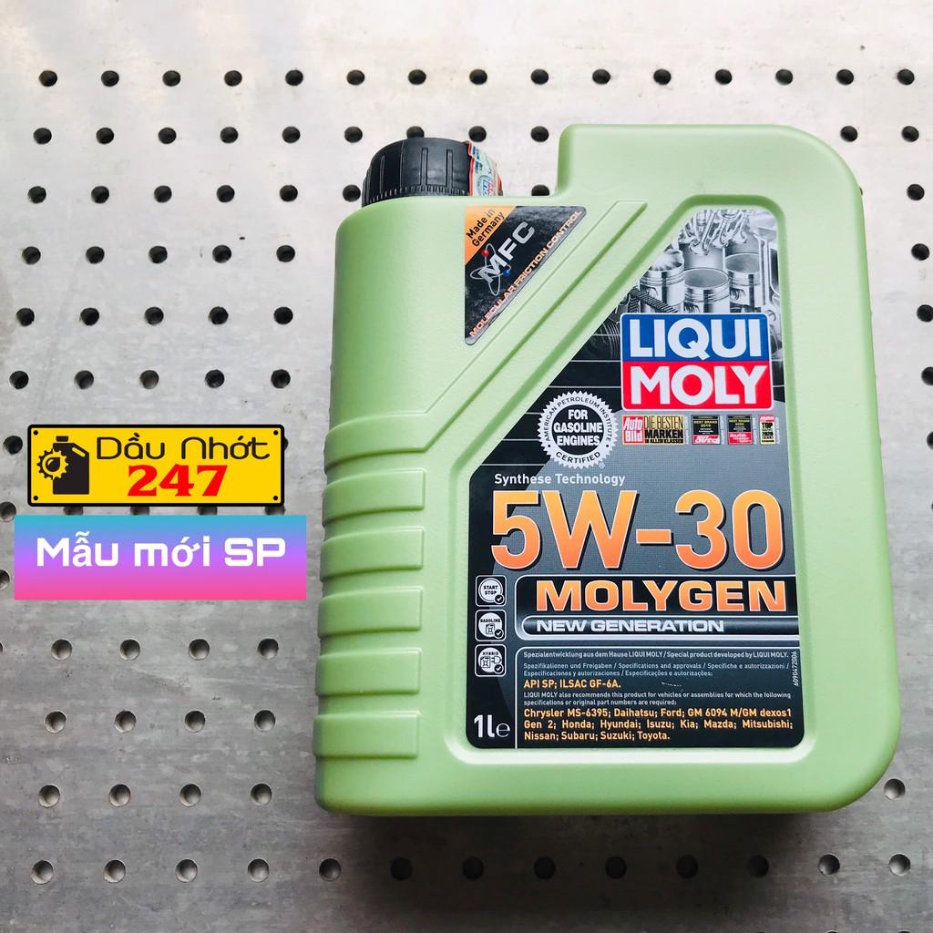 (Mẫu mới SP) Dầu Nhớt Xe Tay Ga Liqui Moly 5w30 MolyGen 1L