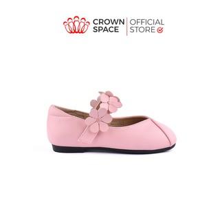 Giày Búp Bê Bé Gái Crown Space Cao Cấp CRUK3117 Size 25-30 cho bé 2-10 Tuổi thumbnail