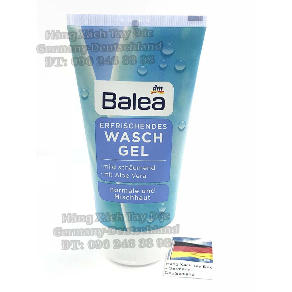 Gel Sữa rửa mặt Balea waschgel Erfrischendes cho da thường và hỗn hợp, xách tay Đức