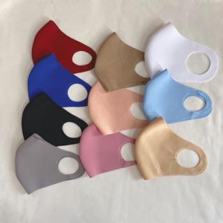 Set 10 khẩu trang vải SU 3D kháng khuẩn tái giặc sử dụng được nhiều lần cho Nam Nữ thumbnail