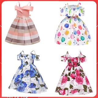 Đầm bé gái hàng quảng châu cao cấp được thiết kế chuẩn size cho bé từ 10kg đến 35kg