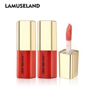 Son kem LAMUSELAND LA005 dưỡng ẩm thiết kế xinh xắn 12 màu tùy chọn khối lượng tinh 3.5G thumbnail