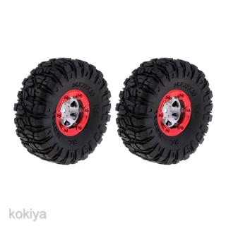 1:12 RC Climbing Trucks 100mm Rubber Tires Tyres Wheel Rim for 12423 12428