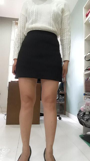 Chân váy chữ A có quần trong
