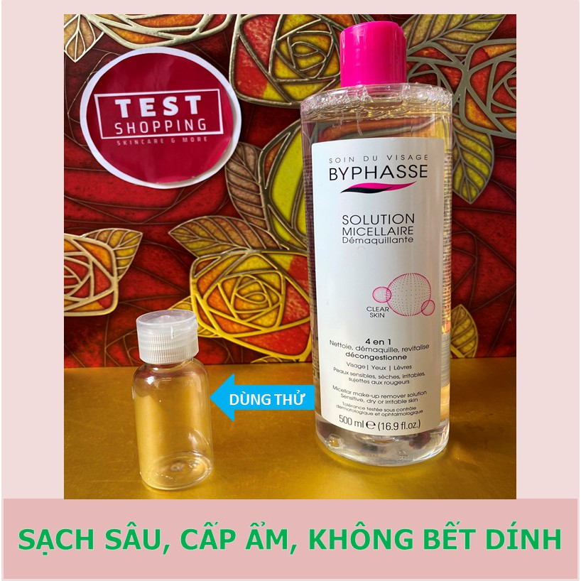 Nước tẩy trang Byphasse Solution Micellaire 500ml