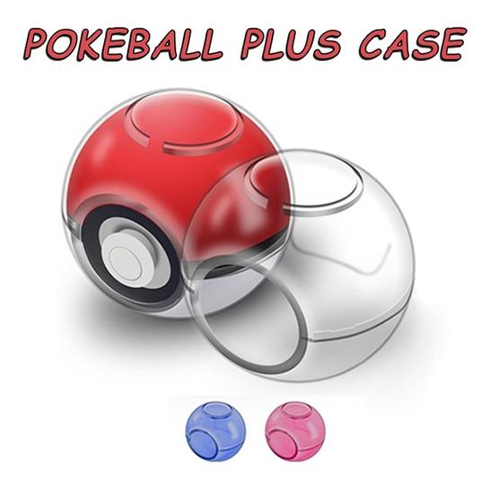 Protective Case Clear Crystal Anti-scratch Controller Protector PC Outdoor Shockproof For Nintendo Switch Pokeball Plus