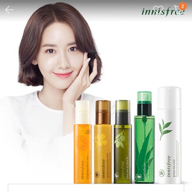 [sale50%] Xịt khoáng Innisfree Green Tea Mineral Mist