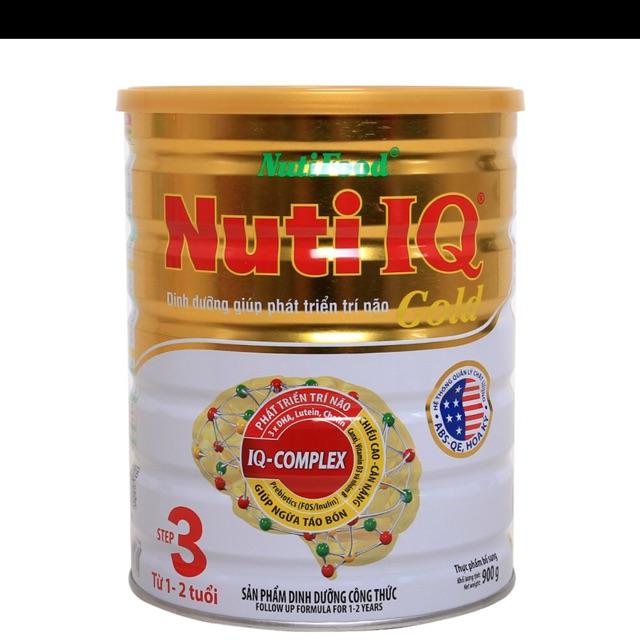 Sữa nuti IQ gold step 3(1 thùng)