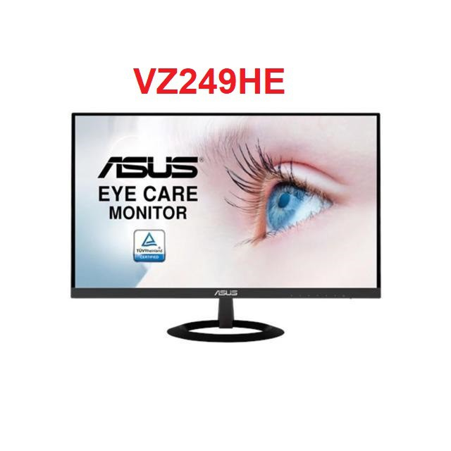 """Màn Hình Siêu Mỏng Asus VZ249HE 23.8"""" Full HD (1920x1080) IPS Bảo Vệ Mắt"""