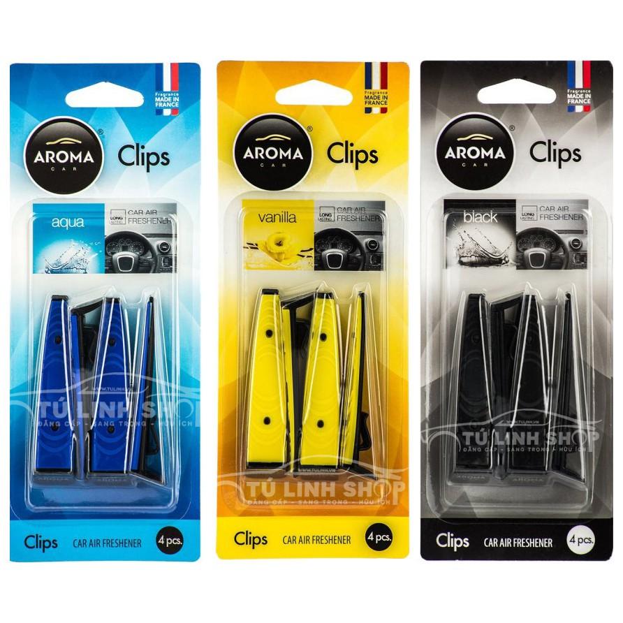 Kẹp cửa gió Clips - Aroma car Clips, hàng chĩnh hãng Aroma nhập khẩu từ Pháp - 10042976 , 1137474909 , 322_1137474909 , 100000 , Kep-cua-gio-Clips-Aroma-car-Clips-hang-chinh-hang-Aroma-nhap-khau-tu-Phap-322_1137474909 , shopee.vn , Kẹp cửa gió Clips - Aroma car Clips, hàng chĩnh hãng Aroma nhập khẩu từ Pháp