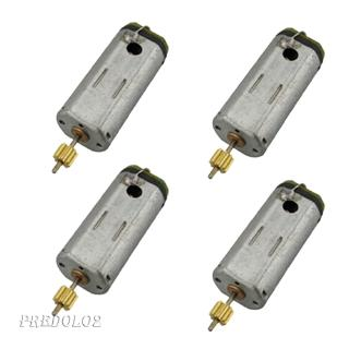 4Pcs V913-34 Tail Motor Replacement for WLtoys V913 RC Helicopter Plane