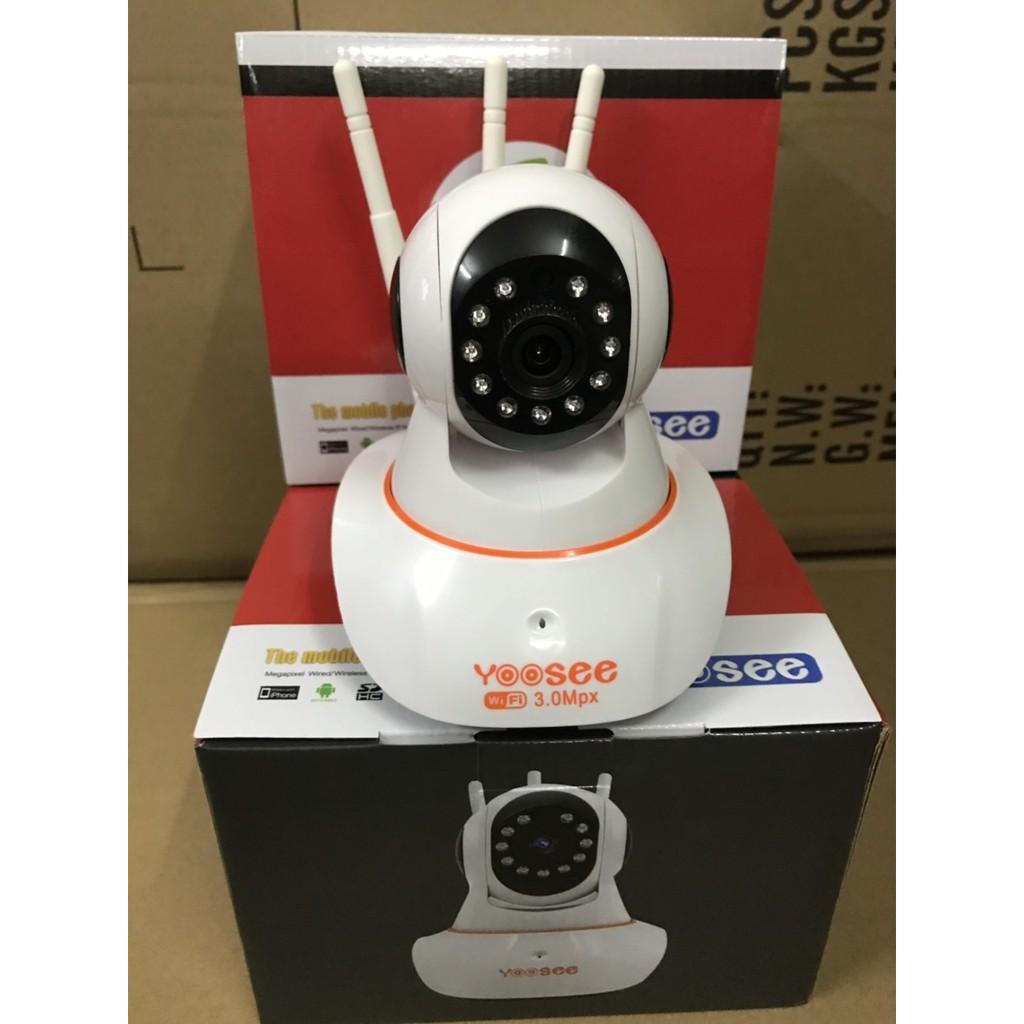 Camera IP WIFI YOOSEE 3 Râu 3.0MPX - Model 2020 | Shopee Việt Nam