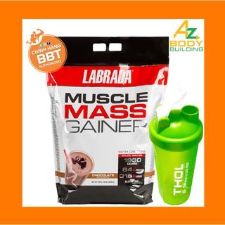 Labrada Muscle Mass Gainer tăng cân – Tăng cơ nhanh chóng – Tặng kèm bình lắc THOL màu ngẫu nhiên