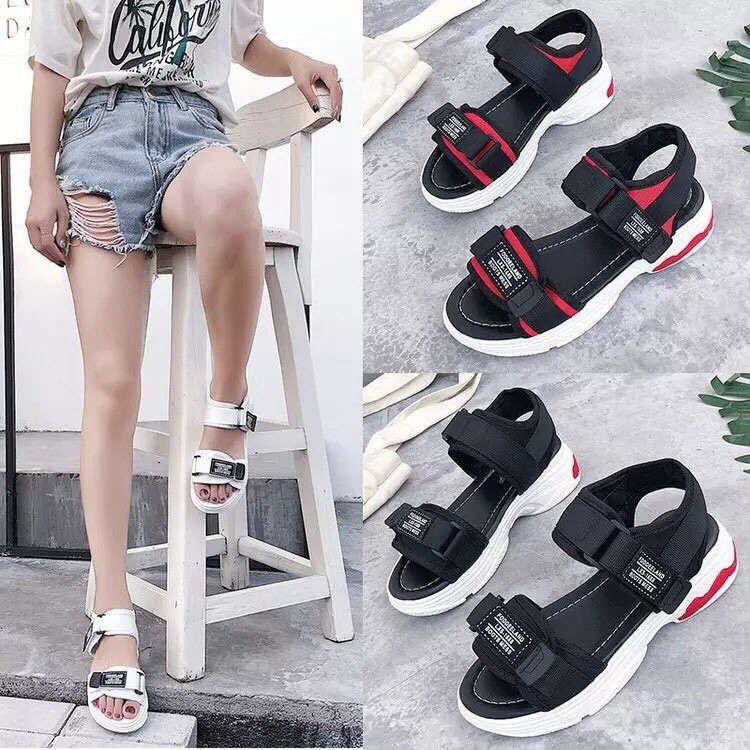 Sandal đẹp hàng cao cấp có 3 màu kèm