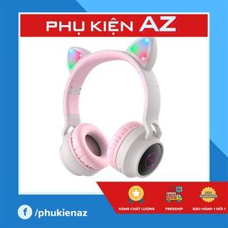 [NHẬP MÃ HIEUTAING GIẢM 20K] Tai nghe Bluetooth Tai Mèo siêu Cute