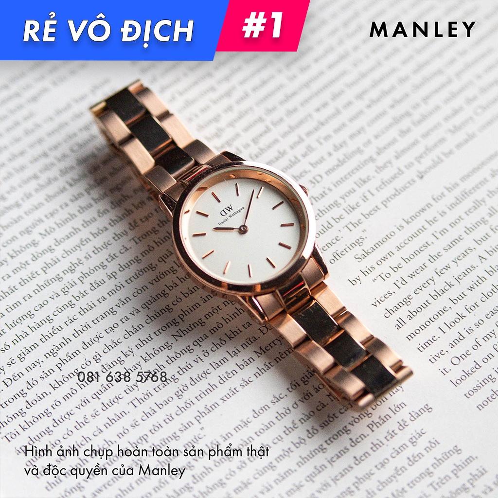 [SIÊU RẺ] Đồng hồ Nữ Daniel Wellington Iconic Link Rose Gold - White