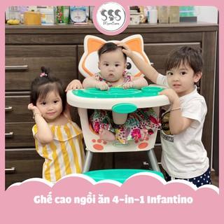 Ghế cao ngồi ăn 4-in-1 Infantino