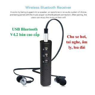[Mã 2404EL10K giảm 10K đơn 20K] Thiết bị Bluetooth BT801 cắm AUX cho ô tô, tai nghe, âm ly, loa đài qua jack 3.5