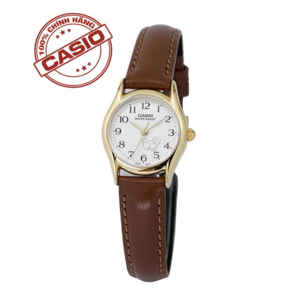 Đồng hồ nữ Casio chính hãng LTP-1094Q-7B7RDF, dây da