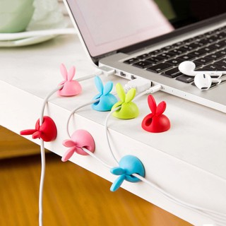 Kẹp dây điện tai thỏ Set 4 nút đỡ dây điện Bikerstorethainguyen eefy1 thumbnail