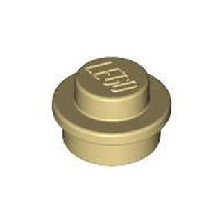 10 Viên Gạch LEGO Tròn Vàng Cát 1×1 Mã Số 4161734
