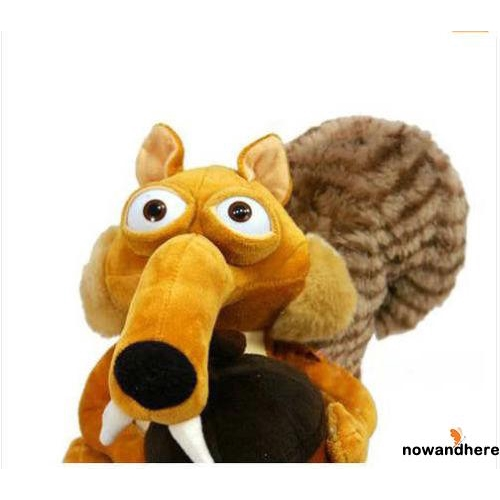 WHN-Kids Baby Toy Animal Doll Ice Age 3 SCRAT Squirrel Stuffed Plush Toy Gift 7