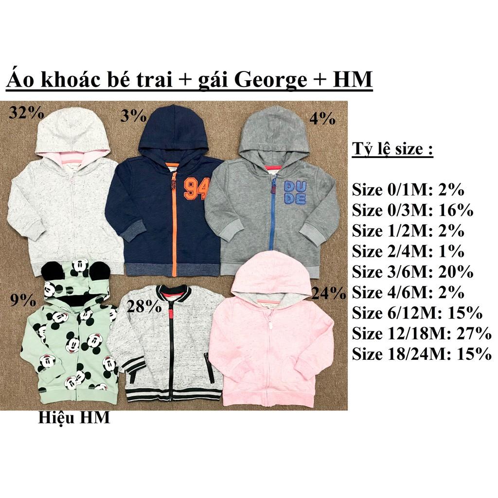 Áo khoác bé trai + gái George + HM ( sỉ ri 15 ) - msp : 1567 - 3504666 , 1326726755 , 322_1326726755 , 1320000 , Ao-khoac-be-trai-gai-George-HM-si-ri-15-msp-1567-322_1326726755 , shopee.vn , Áo khoác bé trai + gái George + HM ( sỉ ri 15 ) - msp : 1567